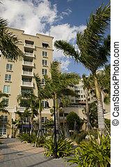 arquitetura, em, praia ocidental palma