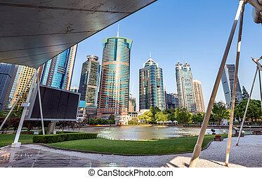 arquitetura moderna, parques