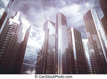 arquitetura mundial, negócio