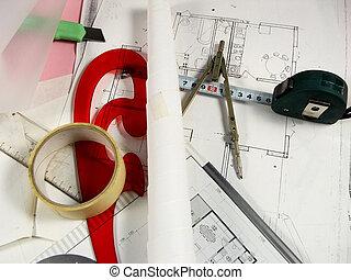 arquitetura, planificação