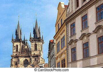 arquitetura, Praga
