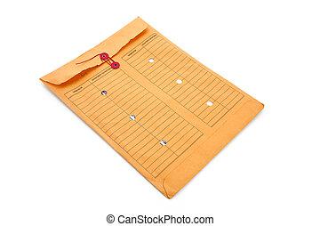 arquivo, envelope