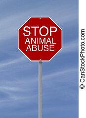 arrêt, abus animal
