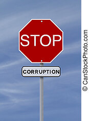 arrêt, corruption