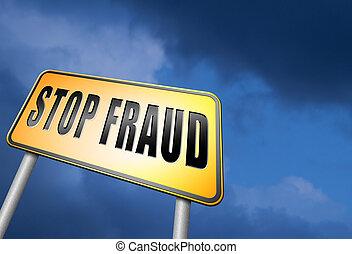 arrêt, fraude