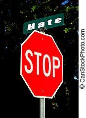 arrêt, haine