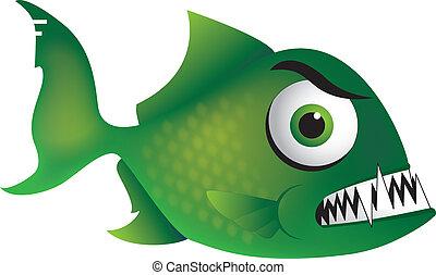 arrabbiato, piranha
