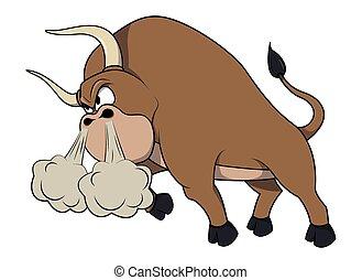 arrabbiato, toro