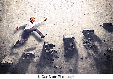 arrampicarsi, incerto