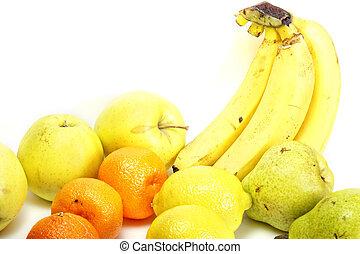 Arranged fruits