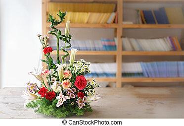arrangement, fleur