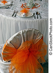 Arrangement for the wedding dinner party-1