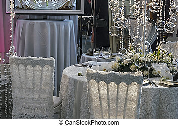 Arrangement for the wedding dinner party-10