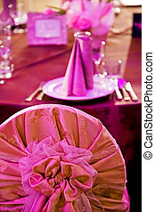Arrangement for the wedding dinner party-12