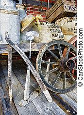 Arrangement of vintage items - HDR