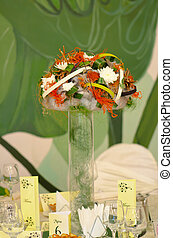 Arrangement wedding