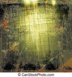 arranhado, amarela, estilo, (orange);, grunge, cor, vindima, abstratos, diferente, green;, (beige);, brown;, fundo, pretas, textura, patterns:, vermelho