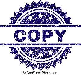 arranhado, selo, cópia, textured, selo