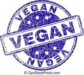 arranhado, selo, textured, vegan, selo