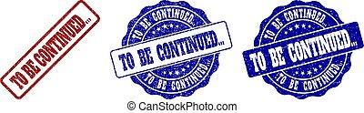 arranhado, ser, selos, continued..., selo