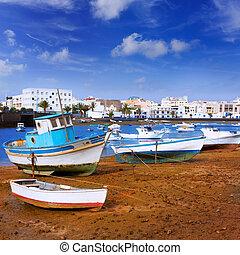 Arrecife in Lanzarote Charco de San Gines