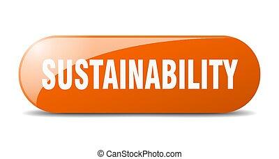 arredondado, sticker., vidro, sustainability, button., sinal...