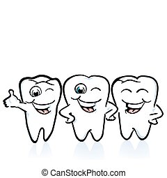 arreglo, de, el, dientes, bueno, cond