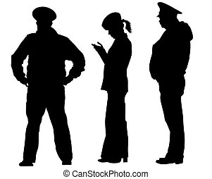 Arrest of police one - People of special police force on ...