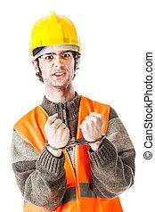 Arrested architect