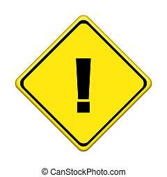 arrière-plan., blanc, trafic, isolé, signe