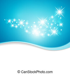 arrière-plan bleu, étoiles