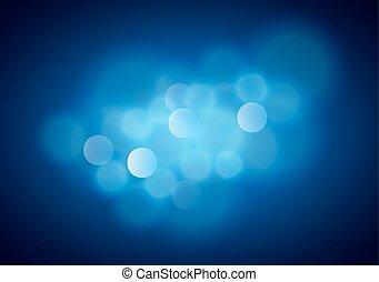 arrière-plan bleu, brouillé
