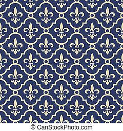 arrière-plan bleu, royal