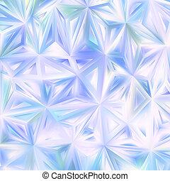 arrière-plan bleu, triangles