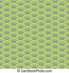 arrière-plan coloré, vagues