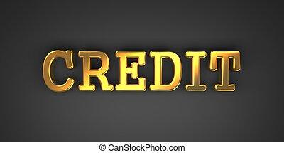 arrière-plan., credit., business