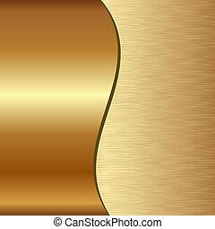 arrière-plan doré