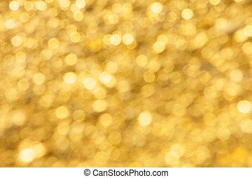 arrière-plan doré, lumière