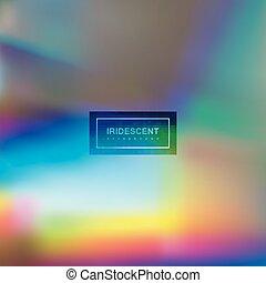 arrière-plan., fluide, iridescent, multicolore