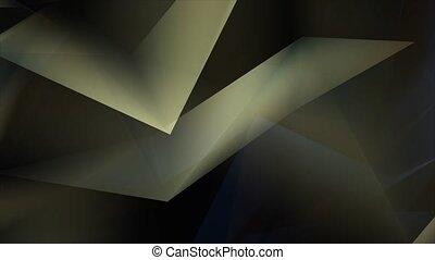 arrière-plan., gradient, géométrique, style, bas, poly, ...