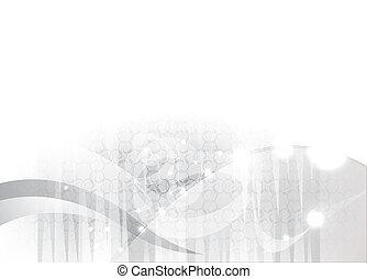 arrière-plan gris, résumé