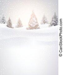 arrière-plan., hiver
