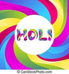 arrière-plan., holi, coloré, heureux