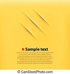 arrière-plan., jaune, grattements
