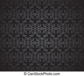arrière-plan noir, vecteur
