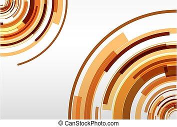 arrière-plan orange, résumé