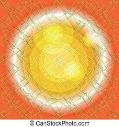 arrière-plan orange, texture