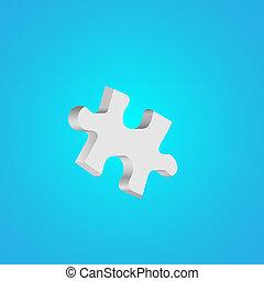 arrière-plan., puzzle, vecteur, eps10, résumé