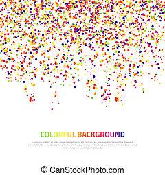 arrière-plan., résumé, coloré