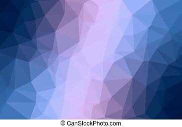 arrière-plan., résumé, polygone, géométrique